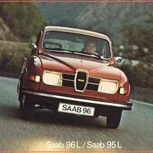 Elektrische Saab 95 L Schilder Electric